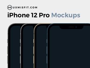 iPhone 12 Pro Mockups Sketch Resource