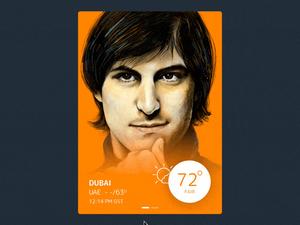 iPhone Weather App – Sketch & Principle