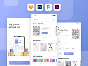Gift Shop App Kit