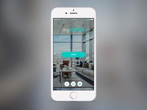 Login App Screen
