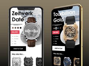 Luxury Watch App Concept