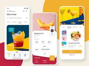Food & Drink App Kit – Mino Food