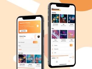 Music Stream App Concept