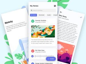 Notes App Sketch Resource