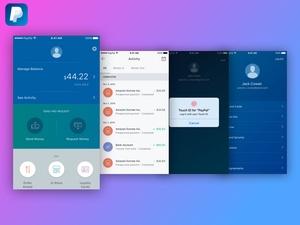 PayPal mobile Kit Sketchnressource