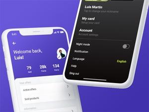 Profiles UI Kit Sketch Resource