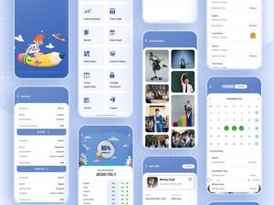 Kit de aplicaciones ERP de la escuela