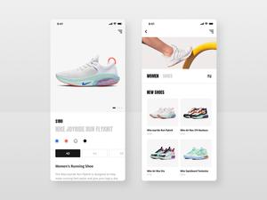 Shoes Store App UI