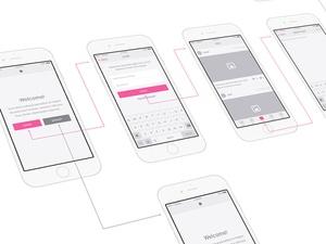 Snap UI kit - iOS Wireframes Sketch Resource
