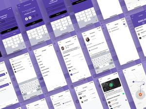 Professional Services App UI Kit Sketch Resource