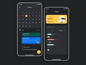 To Do List Calendar App Design