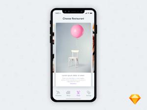Tourist App Cards Screen