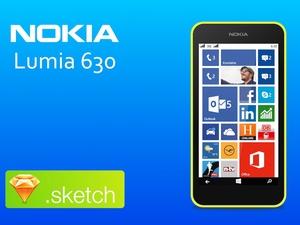Nokia Lumia 630 Sketch Resource