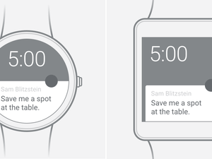 Android Wear Wireframe Sketch Resource
