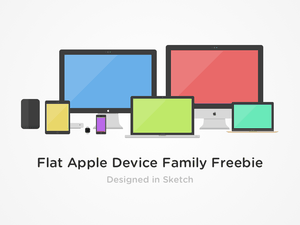 Flat Apple Device Family Sketch Resource