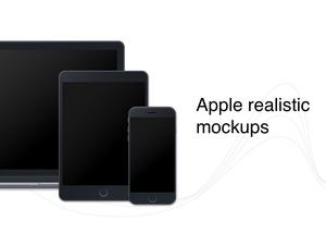 Apple Mockups Sketch Resource