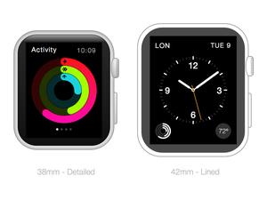 Apple Watch Frames Sketch Resource