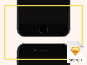 iPhone 6 Sketchリソース