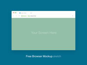 Google Chrome Mockup