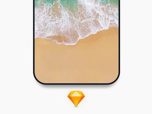 iPhone 8コンセプトモックアップ