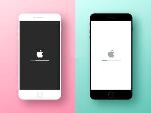 Minimal iPhone Device Mockup Sketch Resource