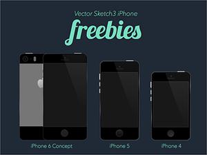 Apple iPhone Mockup Freebie Sketch Resource