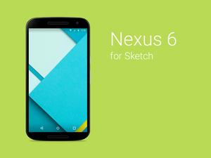 Nexus 6 Template Sketch Resource