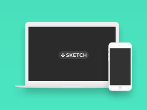 Minimal Macbook Sketch Resource
