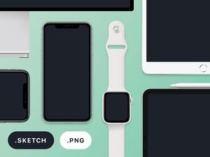 2019 Apple Device Mockups