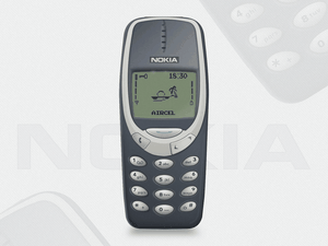 NOKIA 3310 Mockup Sketch Resource