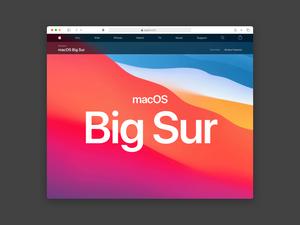 Safari Big Sur Mockup Sketch Resource