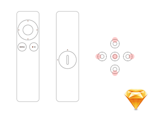 Apple Remote Sketch Resource