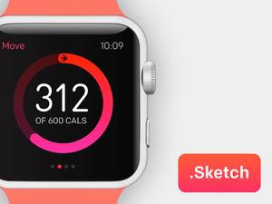 Apple Watch Sketch Resource