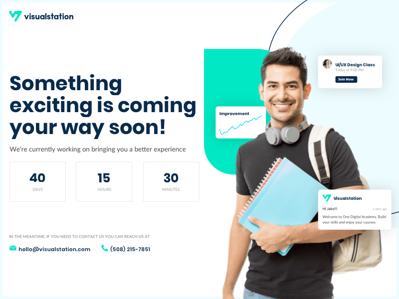 Coming Soon Page Design Sketch Resource