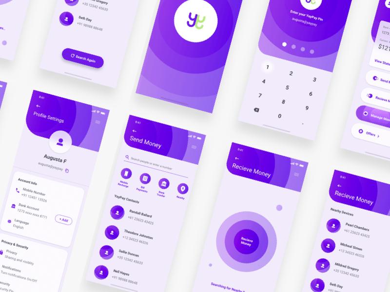 Wallet UI Kit Sketch Resource