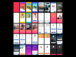 Sign In Project – 50 Free iOS App Screens