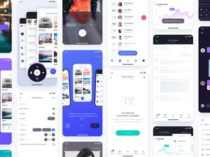 Atro Mobile UI Kit Sketch Resource