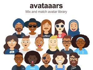 Avatars Sketch Library Sketch Resource