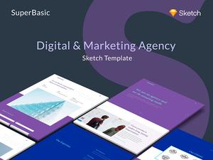 Basic Portfolio Theme Sketch Resource