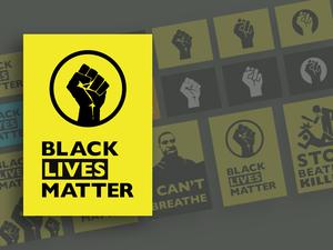 Black Lives Matter Graphics Sketch Resource