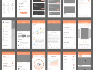 Cafit UI Kit Sketch Resource