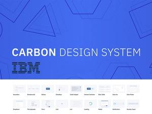 IBM Carbon Design System Sketch Resource