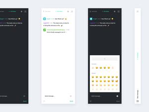 Twitch Sidebar Chat UI Sketch Resource