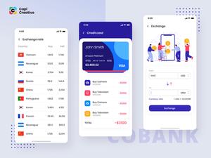 Bank App Concept Sketch Resource