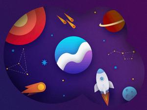 Comin System Galaxy Sketch Resource