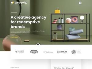 Creative Agency Web Template Sketch Resource