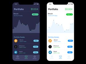 Crypto Portfolio Sketch Resource