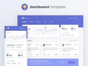 Dashboard Elements Sketch Resource