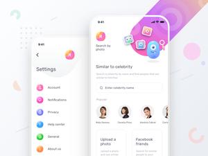 Dating App Concept Screens Sketch Resource