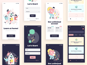 Curso de diseño de la aplicación Concepto de recurso de boceto